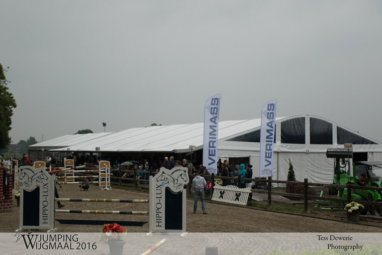 TJL Tent met groot afdak was zeer welkom